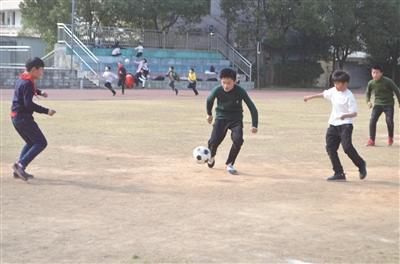 报 泉溪小学 足球之路迈向未来